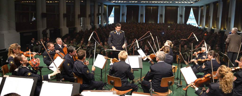 Одржан концерт за учеснике војне параде